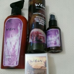 WEN Bundle - hair, body and fragrance $90 value